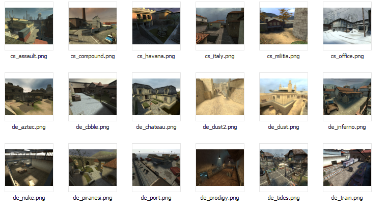 Custom cs:s maps, cs1. 6 maps, and map packs created by sk3tch.